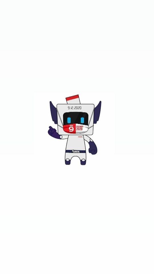 Maskot Pemilihan Serentak 9 Desember 2020
